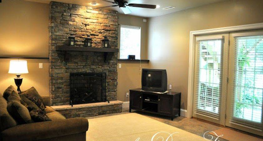 Paint Colors Room Fireplace Rooms
