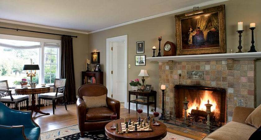 Paint Colors Rooms Fireplace