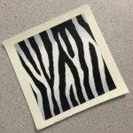 Paint Realistic Zebra Print Angelus Leather