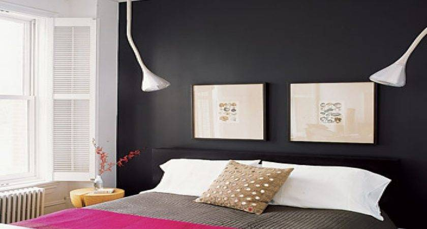 Painted Bedrooms Black Bedroom Accent Wall