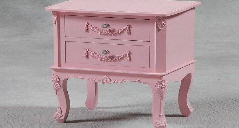 Painted Pink Color Shabby Chic Dresser