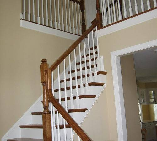 Painting Banisters Black Color Finish Suggestions