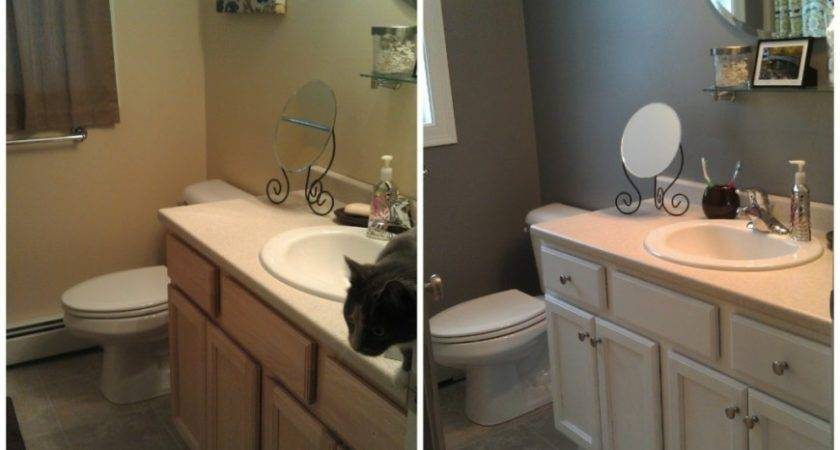 Painting Bathroom Cabinet Trends