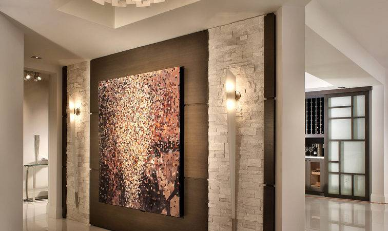 Painting Feature Wall Ideas Contemporary