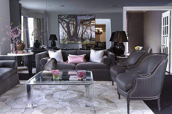 Painting Living Room Grey Home Designer