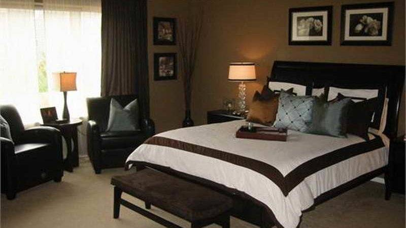 Painting Master Bedroom Ideas Brown Paint Color