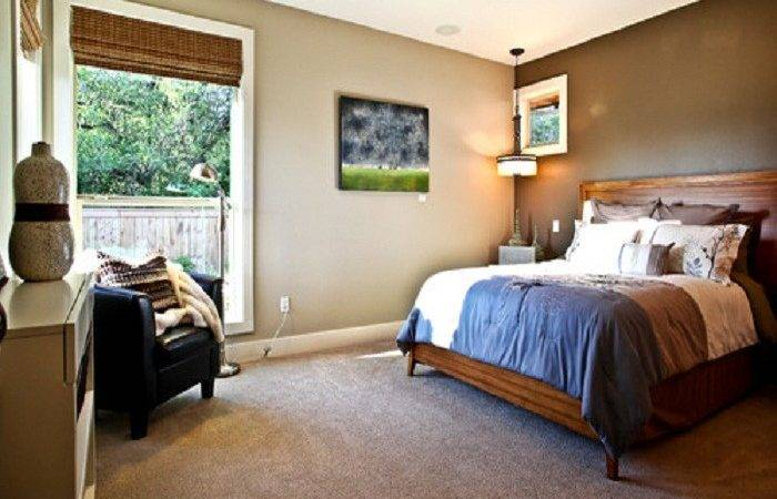 Painting Neutral Dark Accent Wall Color