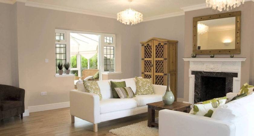 Painting One Wall Different Color Living Room Home Combo