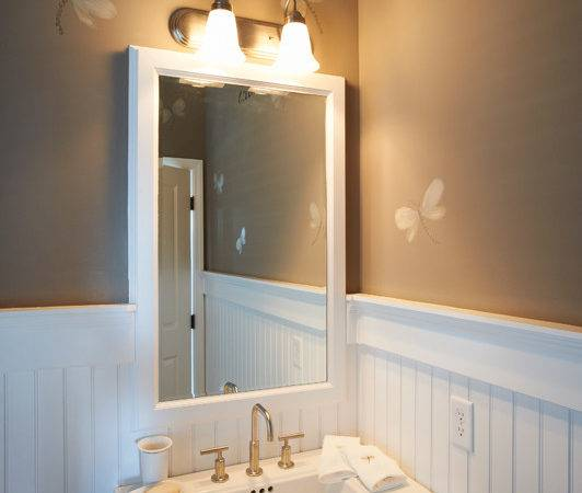 Painting Powder Room Color Video