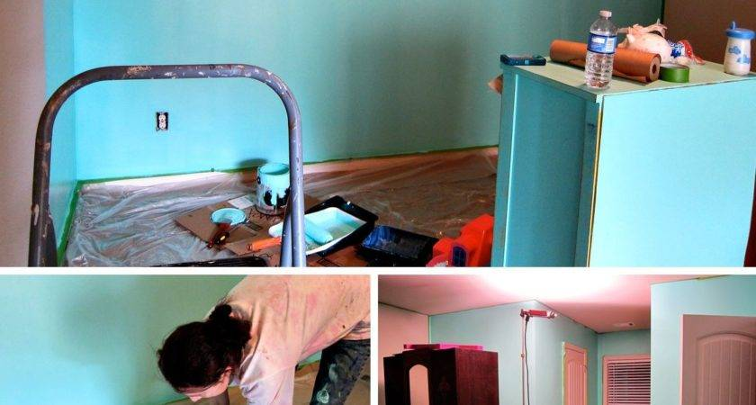 Painting Room Teal Spoonful Imagination