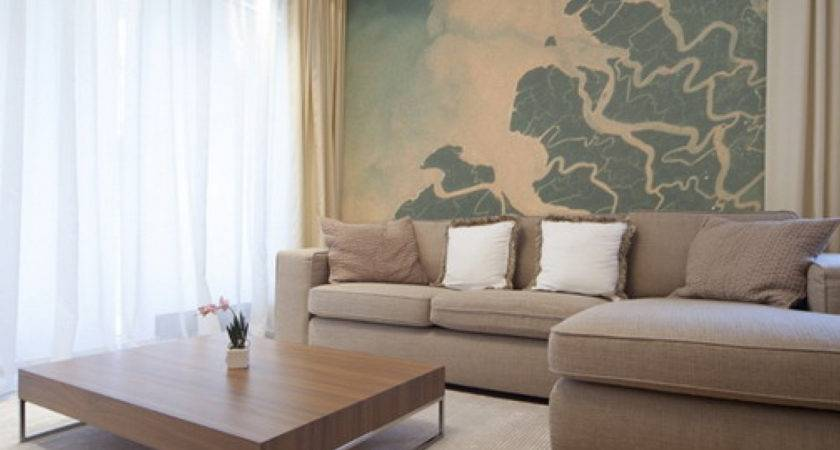 Painting Textures Living Room Home Combo