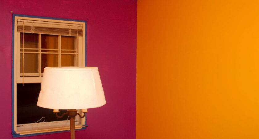 Paintingbedroom Two Different Colors Paint Also