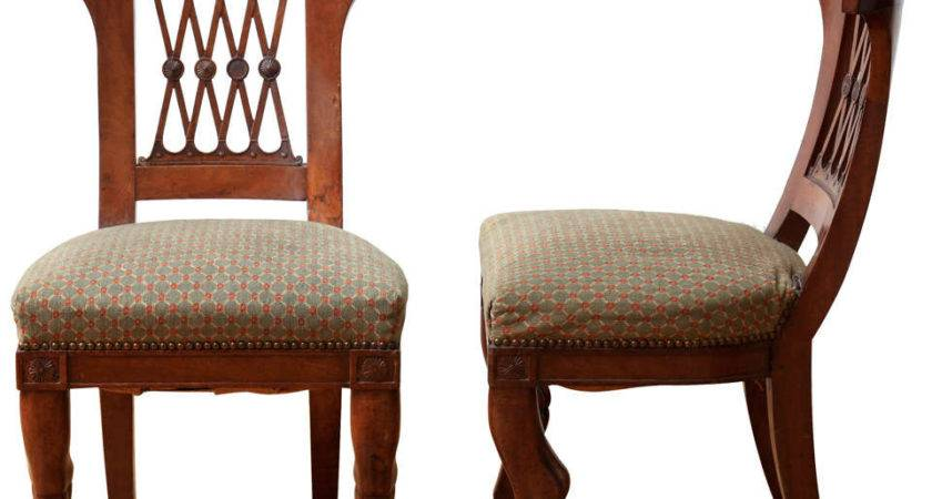 Pair Directoire Chairs Style Elements Greek