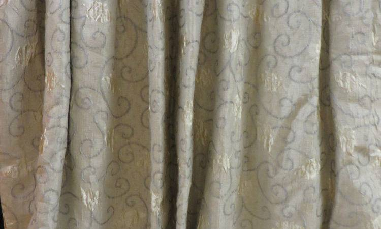 Pairs Quality Interlined Gold Grey Silver Luxury