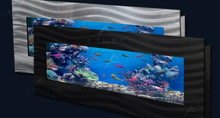 Panoramic Wall Mounted Aquarium