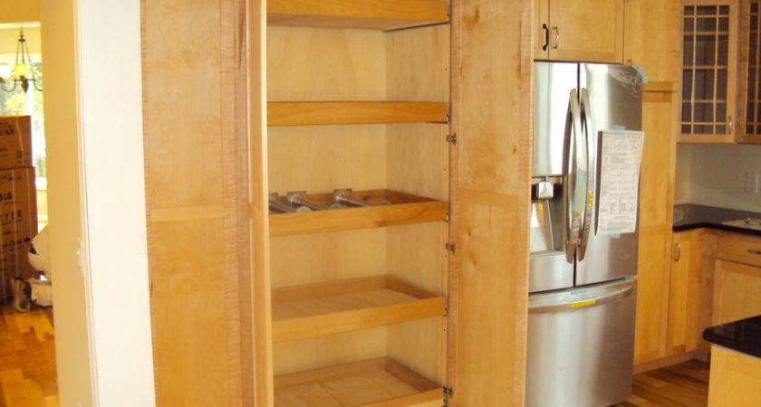 Pantry Cabinet Add Existing Kitchen Set