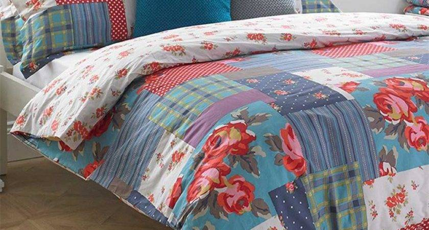 Paoletti Patchwork Duvet Cover Set Multi Coloured