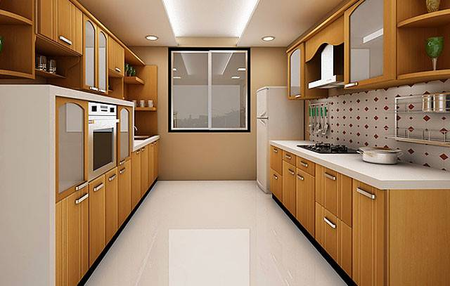 Parallel Wall Modular Kitchen