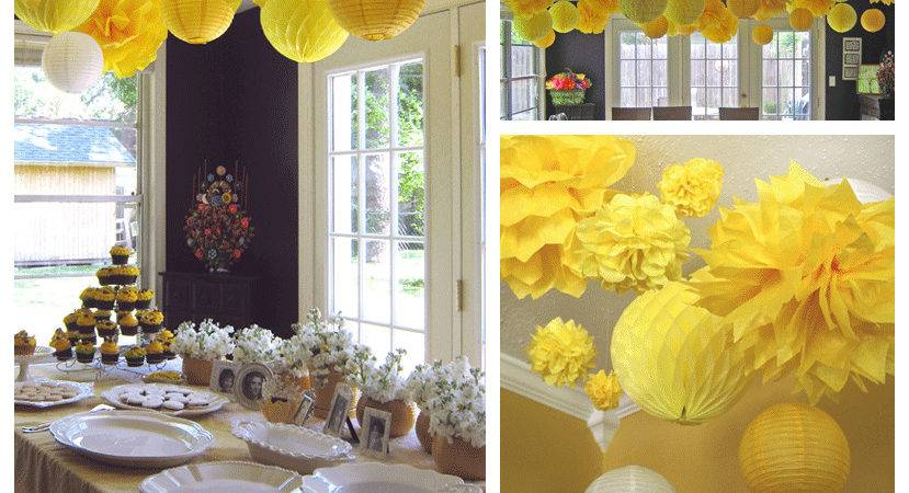 Parties Yellow Black White Bees Design Dazzle