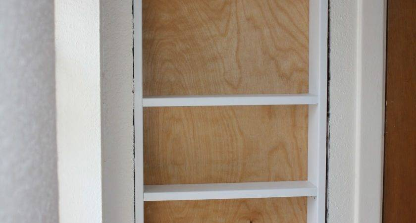 Passions Pastimes Diy Recessed Shelving Part