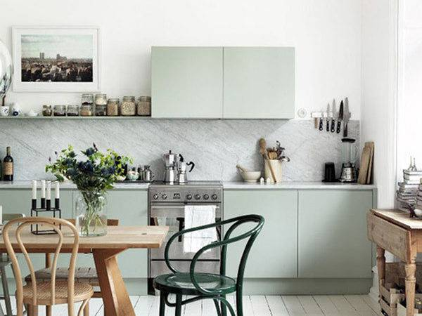 Pastel Interiors Painted Kitchen Pink Room