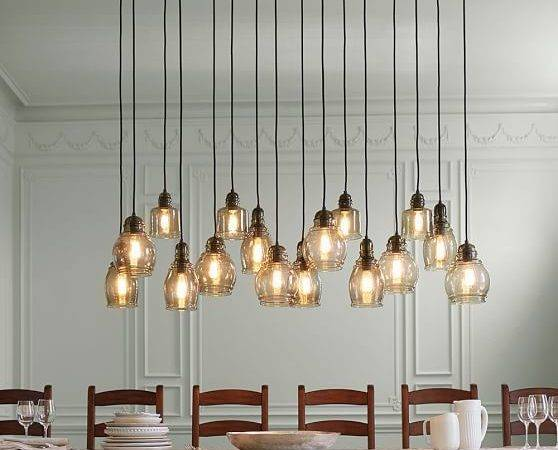 Paxton Glass Light Pendant Pottery Barn