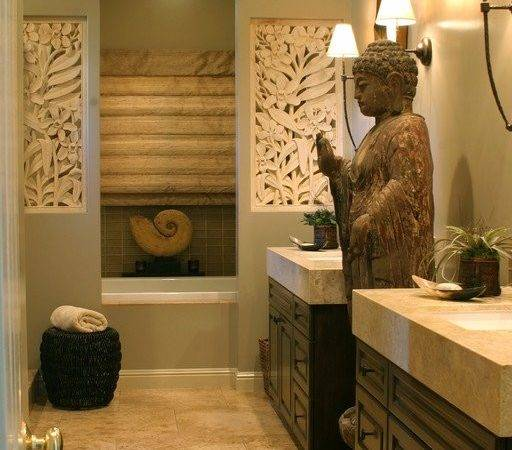 Peaceful Zen Bathroom Design Ideas Relaxation