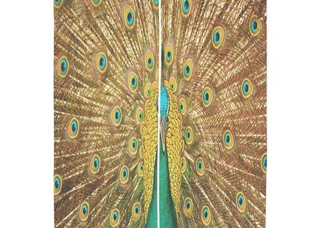 Peacock Curtains Coolbedding