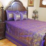 Peacock India Inspired Bedding Coverlet Duvet Bedroom