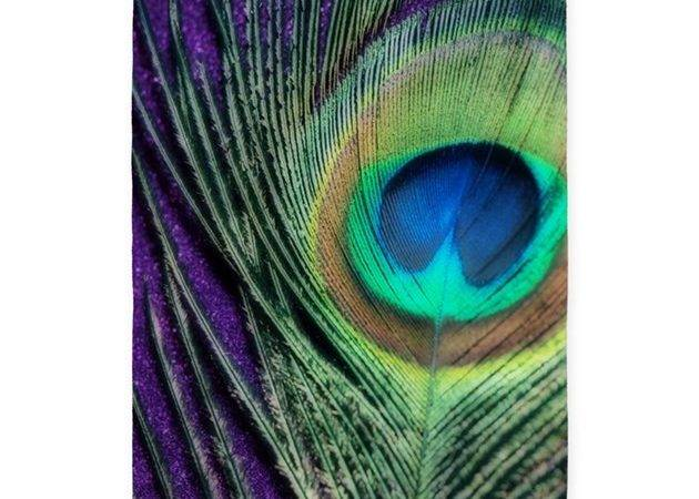 Peacock Purple Orton Area Rug Christyoliver