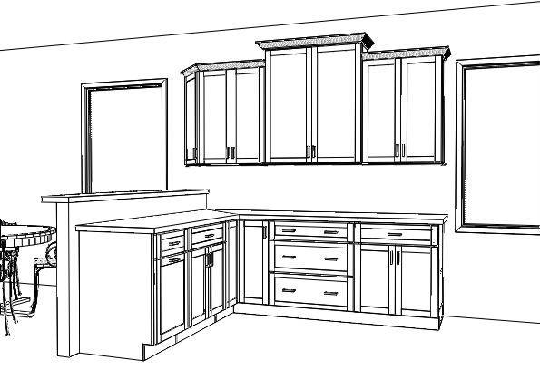 Peninsula Kitchen Layout Dream House Experience