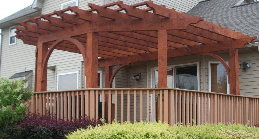 Pergola Designs Existing Deck Furnitureplans