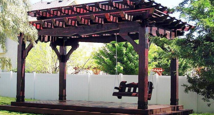 Pergola Roofing Design Ideas Western Timber Frame