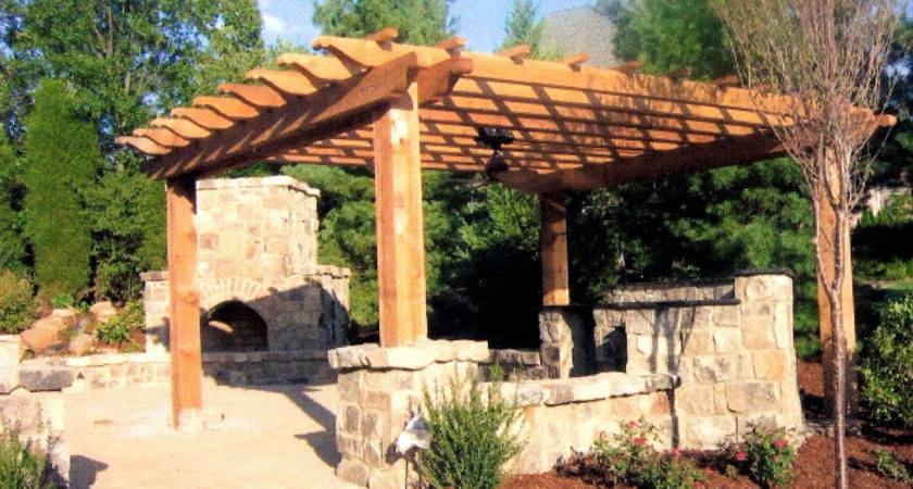 Pergolas Designs Home Decorating Ideas
