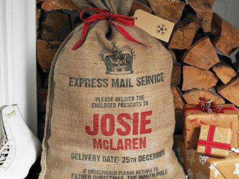 Personalised Christmas Sack Decoholic