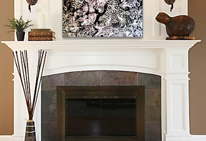 Photos Bild Galeria Decor Above Fireplace