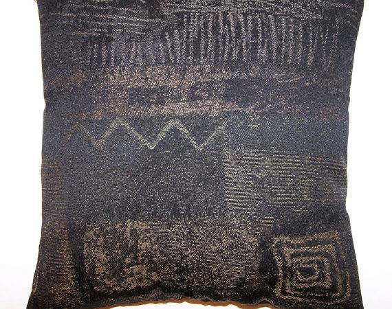 Pillows Throw Sofa Couch Black Charcoal Gold Minnieslegacy