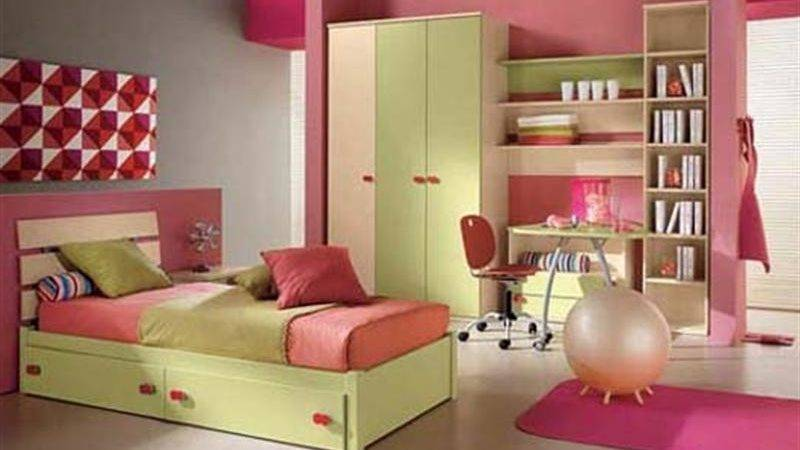 Pink Bedroom Color Combinations