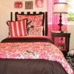 Pink Black Custom Dorm Room Bedding Decor