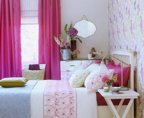 Pink Blue Country Bedroom Gorgeous Pinks