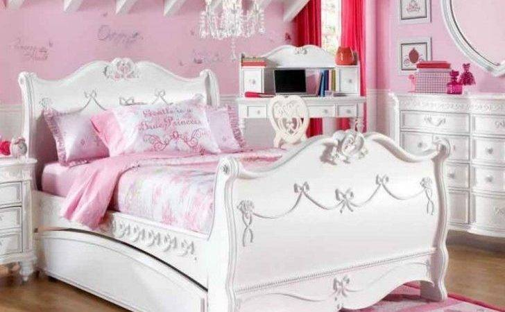 Pink Childrens Bedroom Furniture Princess Sets Girls