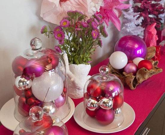 Pink Christmas Decorating Ideas All
