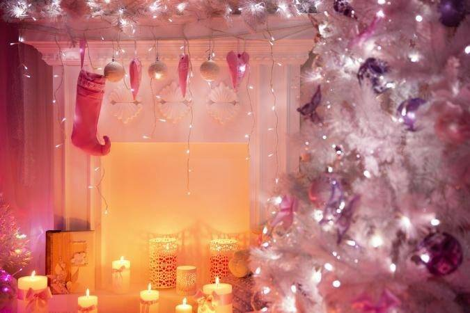 Pink Christmas Decorations Lovetoknow