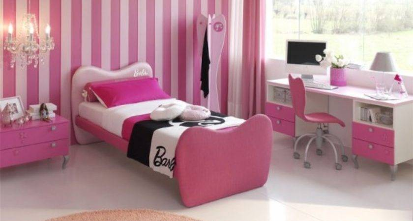 Pink Girls Bedroom Decorating Ideas Decosee