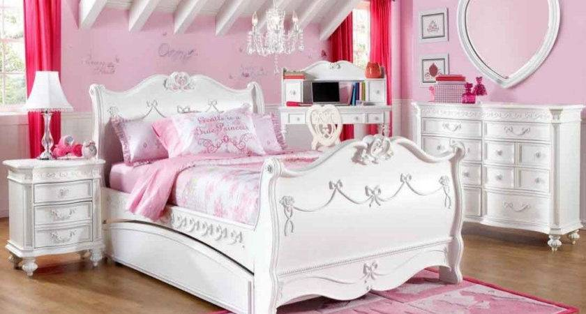 Pink Girls Bedroom Furniture Small Makeover