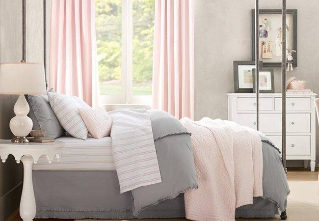 Pink Gray Bedroom Think Nersian