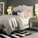 Pink Gray Black Bedroom Contemporary