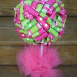 Pink Green Baby Shower Decorations Best Decoration