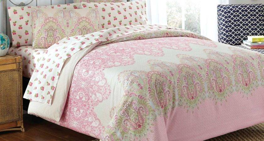 Pink Green Bedding Sets Ease Style