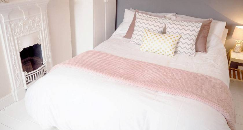 Pink Grey Bedroom Makeover Bang Style